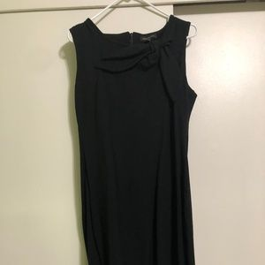Black Dress with Ribbon